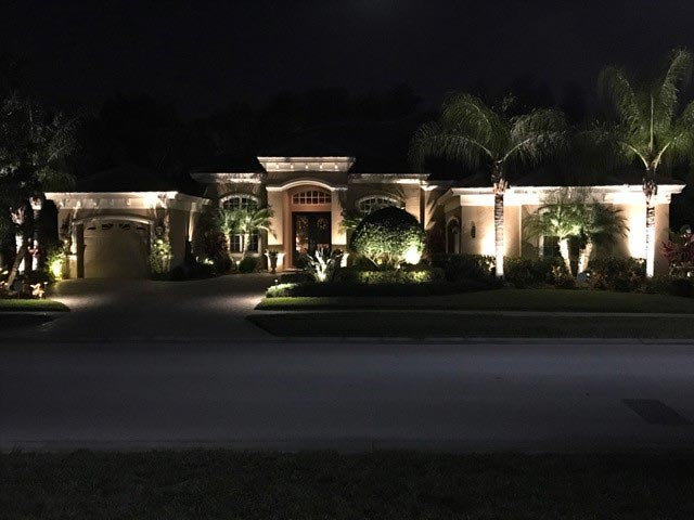 Outdoor Landscape Lighting Tampa Florida