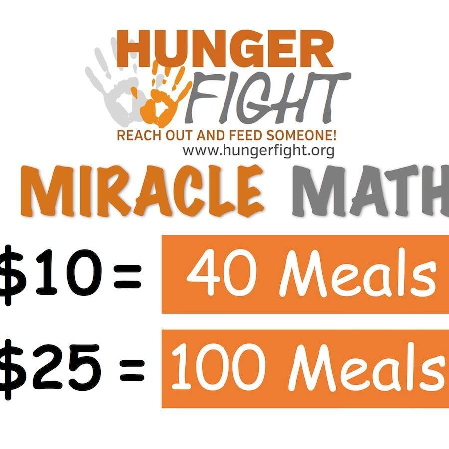 HUnger Fight Logo