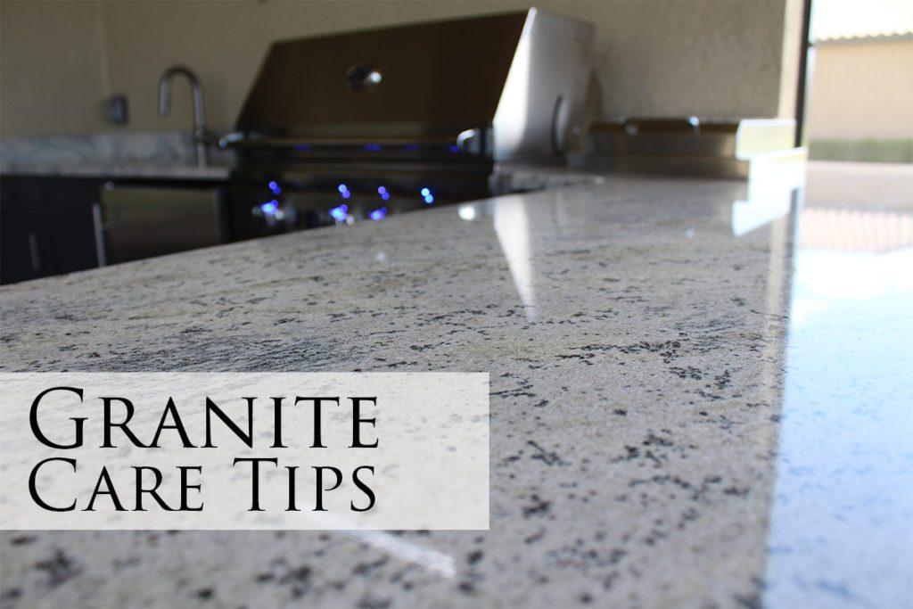 Granite Care Tips