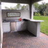 Outdoor Kitchen Round Bar