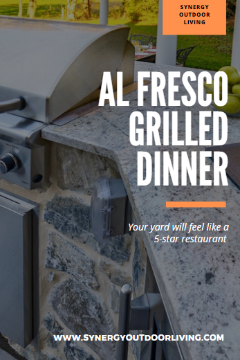 al fresco grilled dinner cookbook Synergy Outdoor