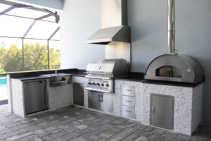 TBBA award winning outdoor kitchen Synergy Living