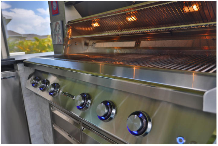new grill outdoor kitchen synergy outdoor living florida