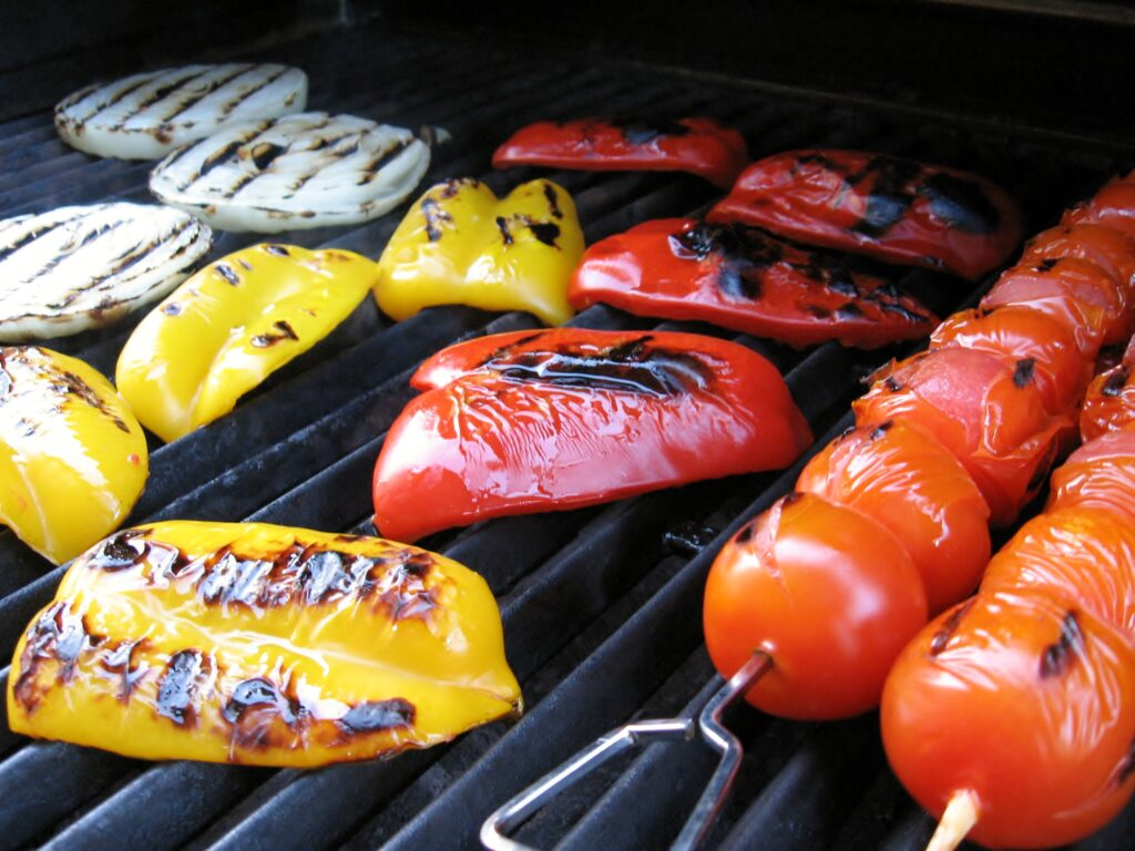 grilling vegetables synergy outdoor florida