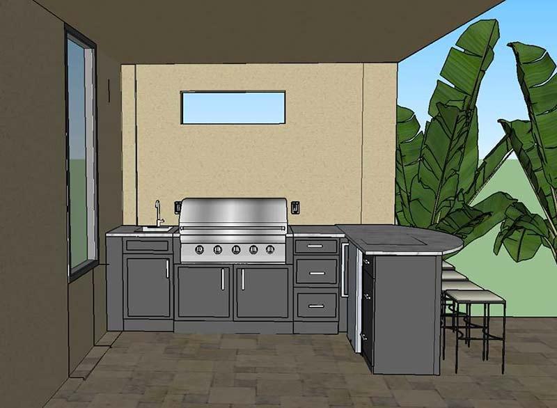 Tampa Florida Outdoor Living Design Company - Kitchens Fireplaces Pergolas