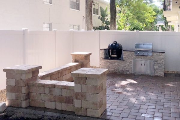 Outdoor Project Gallery Tampa Bay, FL | Custom Kitchens ... on Synergy Outdoor Living id=34831