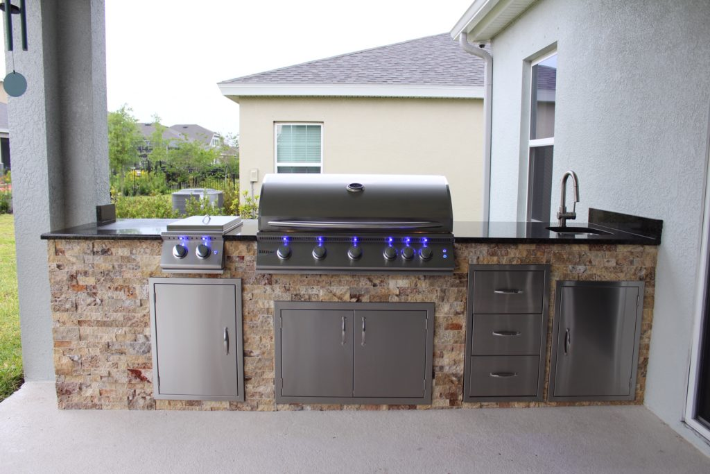 """Summerset Sizzler Pro 40"""" Grill Outdoor Kitchen - Synergy ... on Summerset Outdoor Living id=14799"""