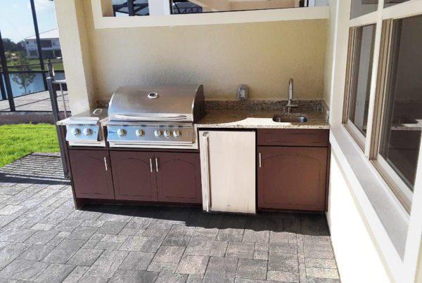 Brown Splendor Kitchen