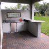 Outdoor Kitchen Round Bar
