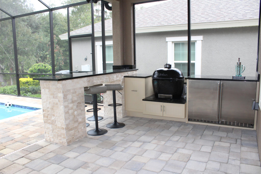Bar Seating Outdoor Kitchen - Synergy Outdoor Living on Synergy Outdoor Living id=76840