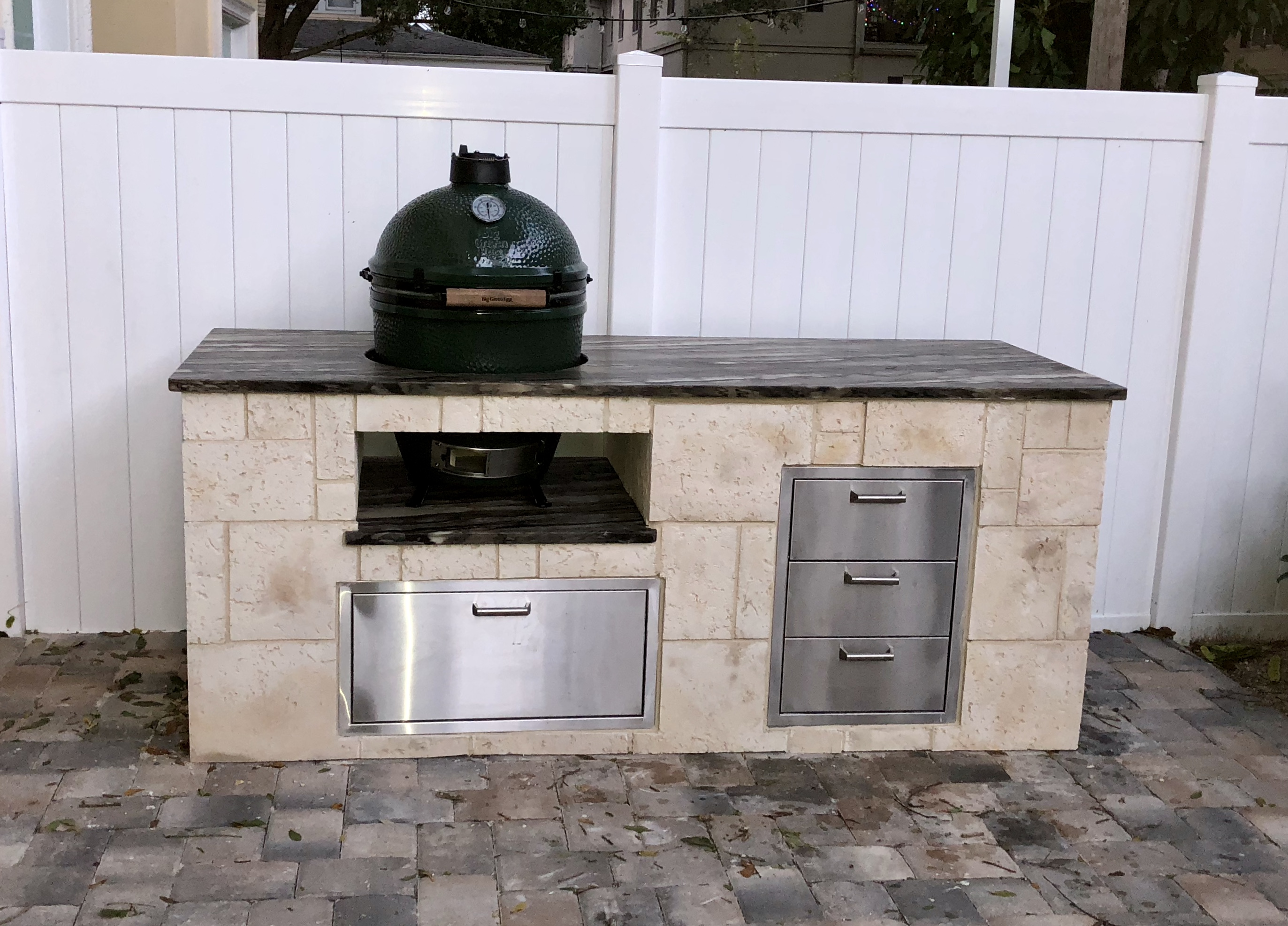 Big Green Egg…Yay or Nay for Your Custom Outdoor Kitchen?